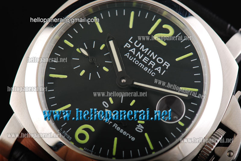 Panerai Luminor Power Reserve Pam 090 Automatic SS/LE Black Watch