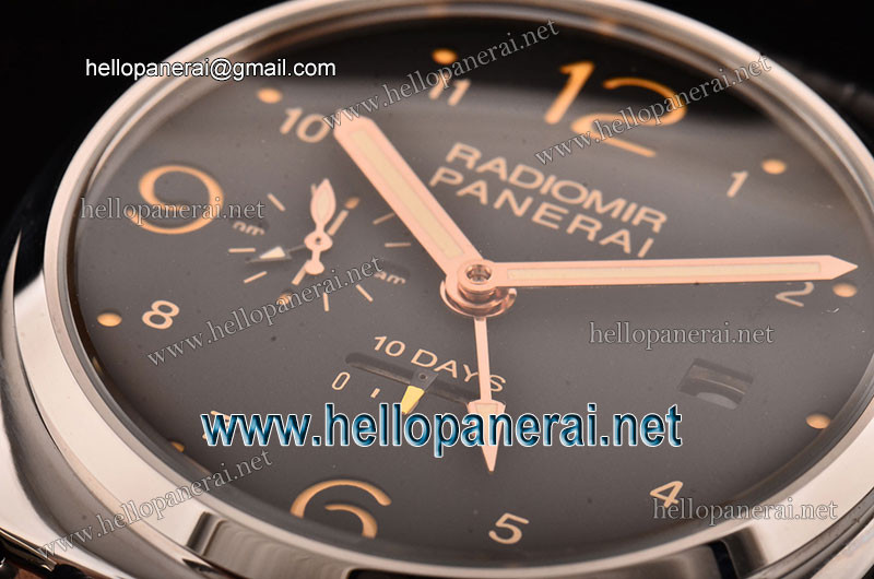 Panerai PAM495 Radiomir 10 Days GMT SS Black Dial A-ST25 PA201308072518