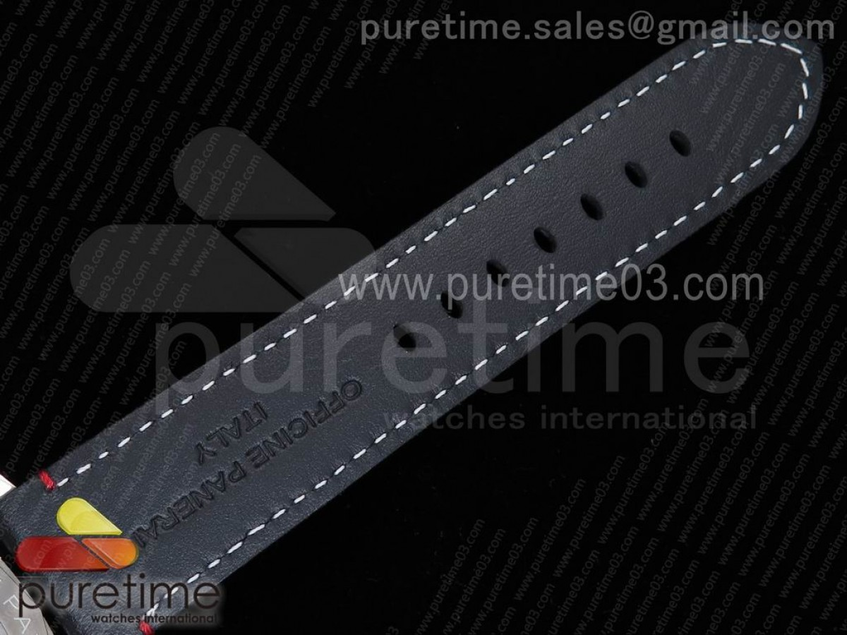 PAM732 S Softbank Team Japan SF Best Edidion on Thick Black Leather Strap P9010 Clone