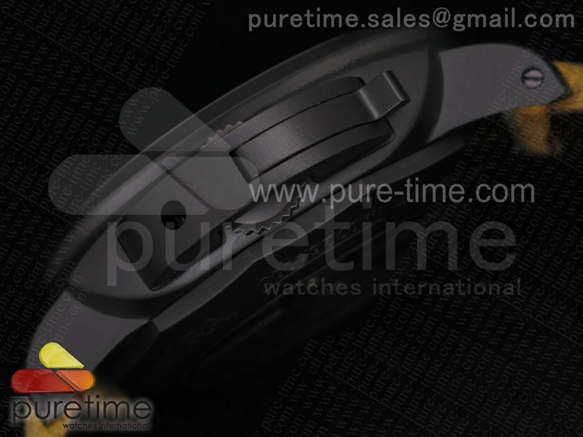 PAM386 M Composite ZF 1:1 Best Edition on Brown Asso Strap ZP9000