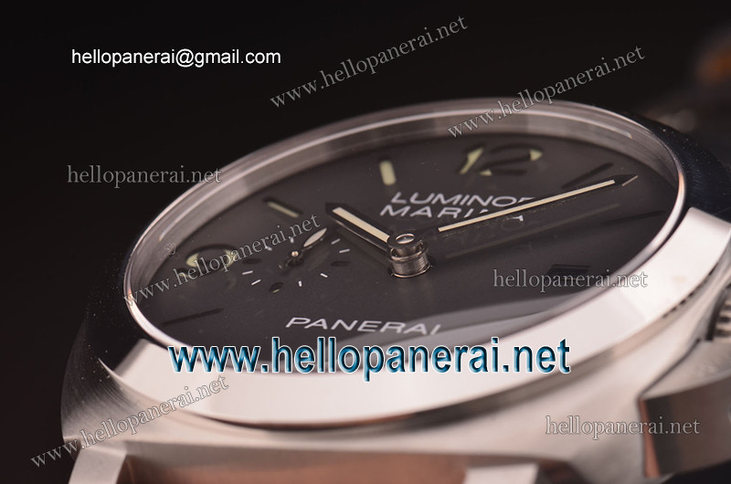 Panerai Luminor Marina 1950 3 Days SS Case Black Dial Asia 7750-MD Ref.PAM00312