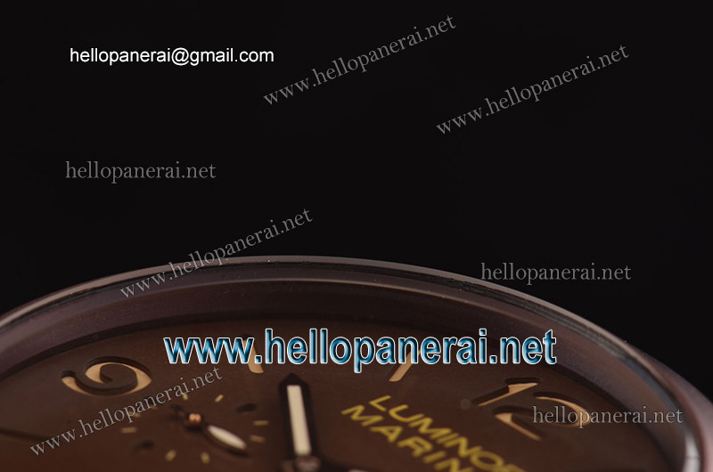 Panerai PAM393 Luminor Marina 1950 3 Days Brown PVD/LE Brown A-ST25