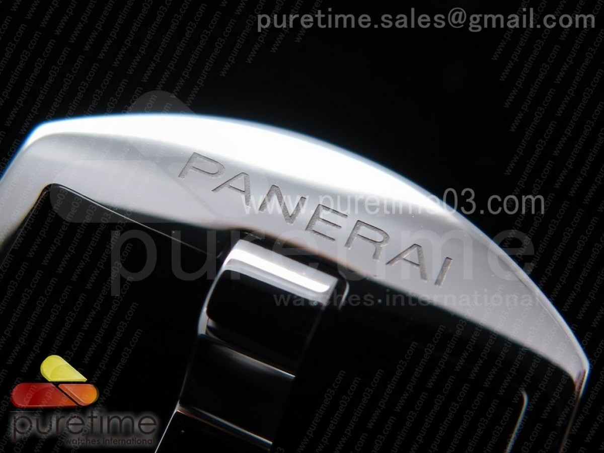 PAM718 S XF  Best Edition Black California Dial on Black Leather Strap P.1000