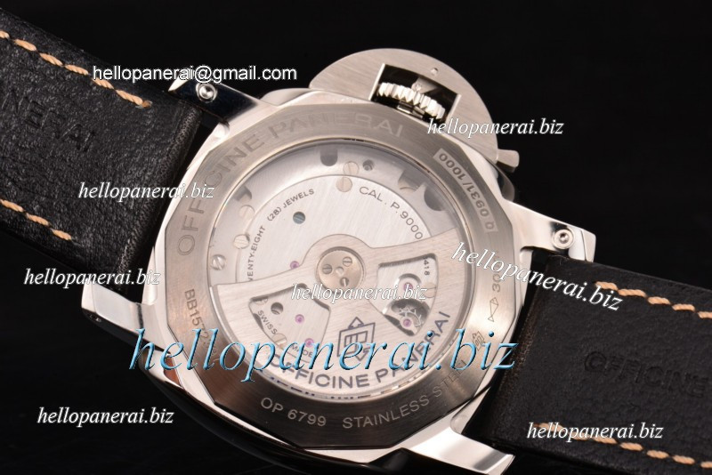 Panerai Luminor Marina 1950 3 Days SS White Dial Ref.PAM 499 (ZF)